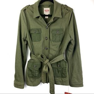 Mossimo Military Jacket NWT XL